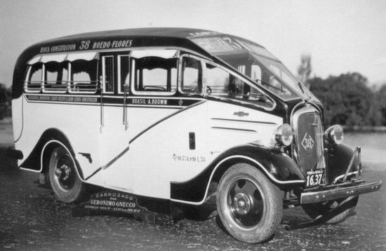 1935 Chevrolet carrocerias Geronimo Gnecco