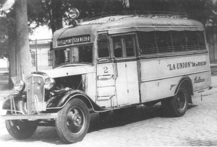 1935 Chevrolet - GMC - Geronimo Gnecco - La Unión