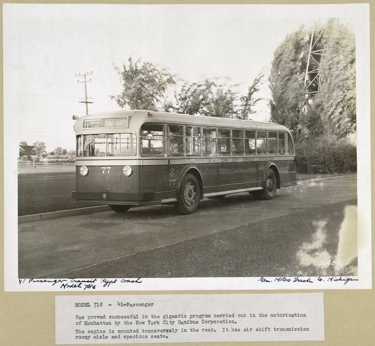 1935 GM N Yellow COach 77