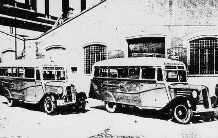 1935 microómnibus Chevrolet - Gerónimo Gnecco.