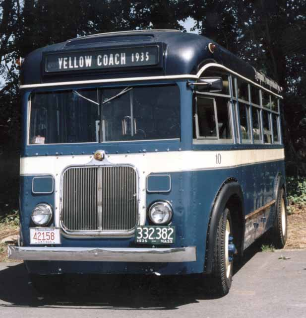 1935 Yellow Coach 715 Type 21