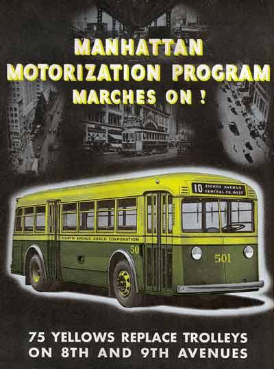 1935 Yellow Coach 728 ad