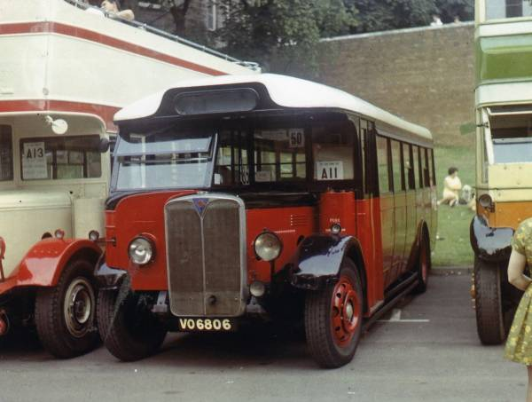 1936 Cravens bodied AEC Regal 1