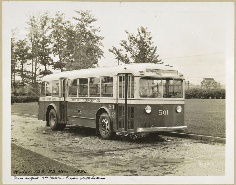 1936 GM 32 pass. model 128