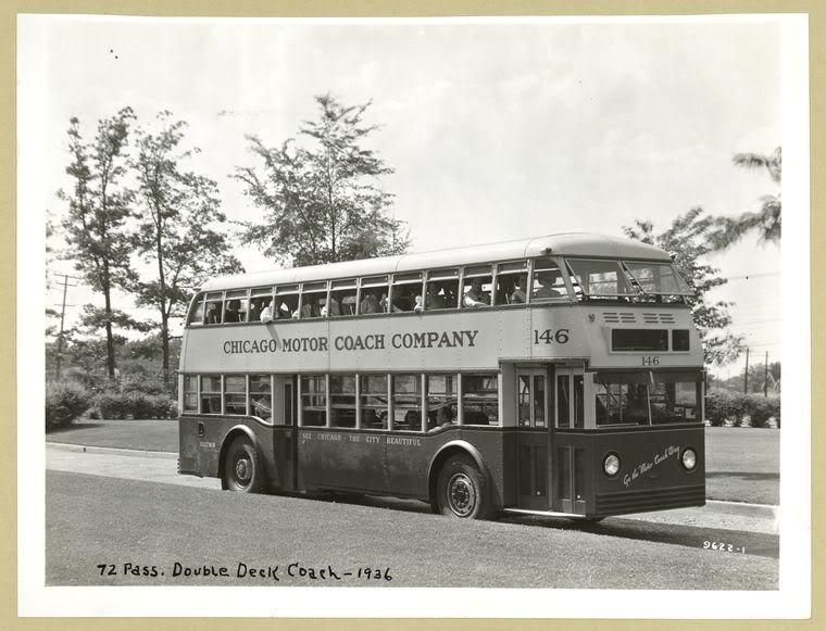1936 GM Yellow Coach Model 720