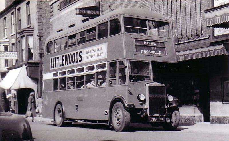 1936 Leyland TD4C originally Cravens H29-26R.