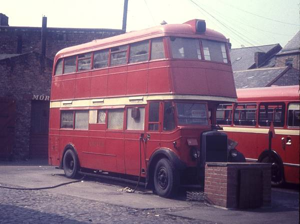 1936 Leyland Titan TD4 built in 1936 with Cravens bodywork