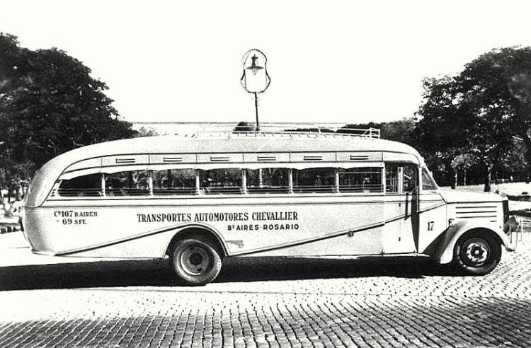 1936 Mercedes-Benz - Geronimo Gnecco - T.A. Chevallier