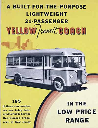 1936 Yellow Coach 733 6