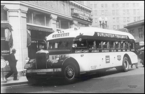 1936 Yellow Coach 843 Burlington