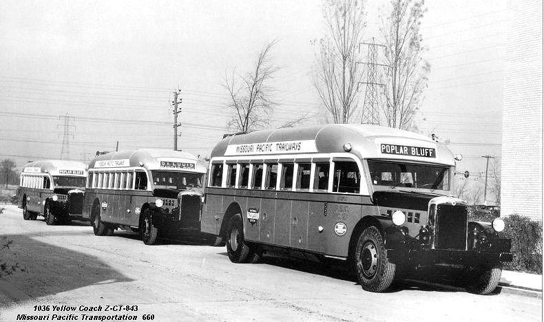 1936 Yellow Coach  Z-CT-843