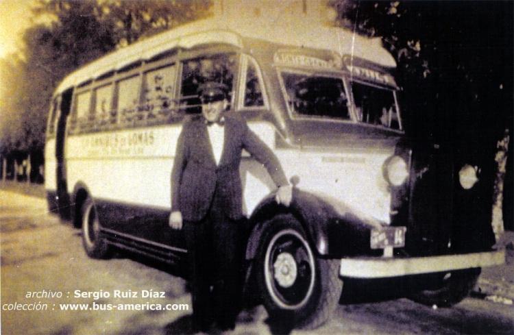 1937 Bedford WTL - Gnecco - Omnibus de Lomas