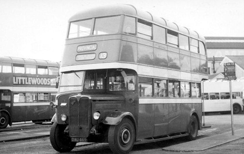 1937 Bussen AEC Regent I DAU462 Craven H56R