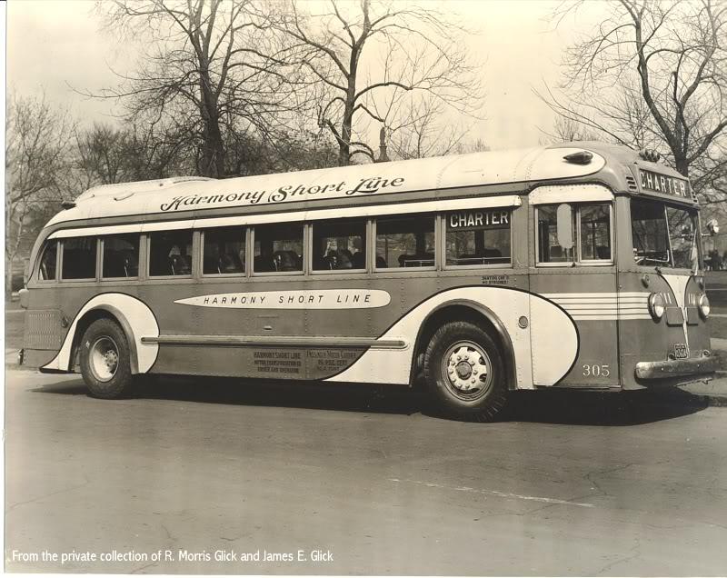 1937 GM Yellow Coach Model 732