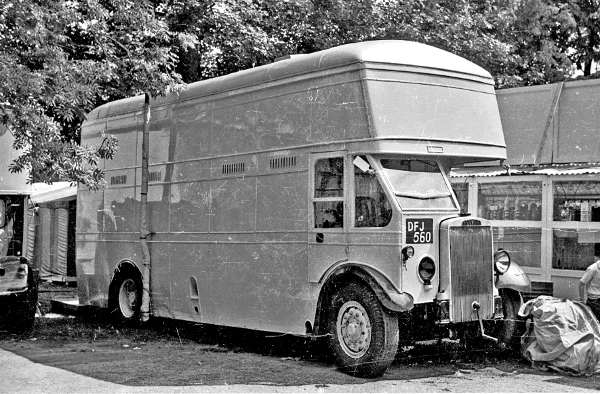 1937 Leyland TD double decker DFJ560 with Craven H30-24R body