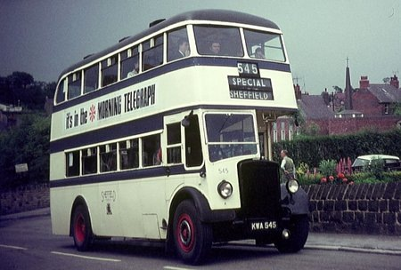 1938 Cravens Sheffield Corporation - Leyland Titan PD2