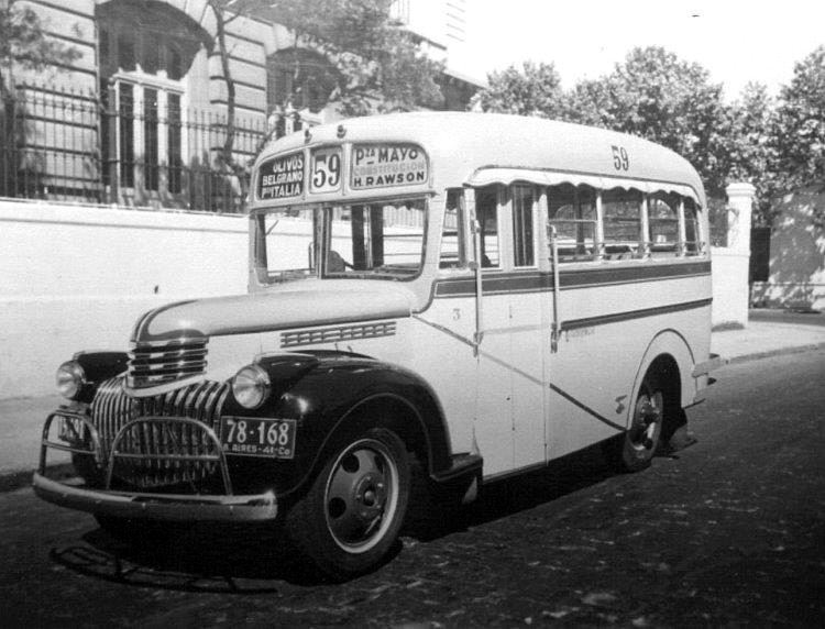 1941 Chevrolet - Gnecco - Línea 59