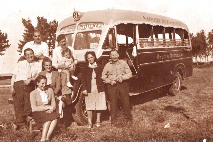 1942 International Gnecco Expreso Quilmes Buenos Aires
