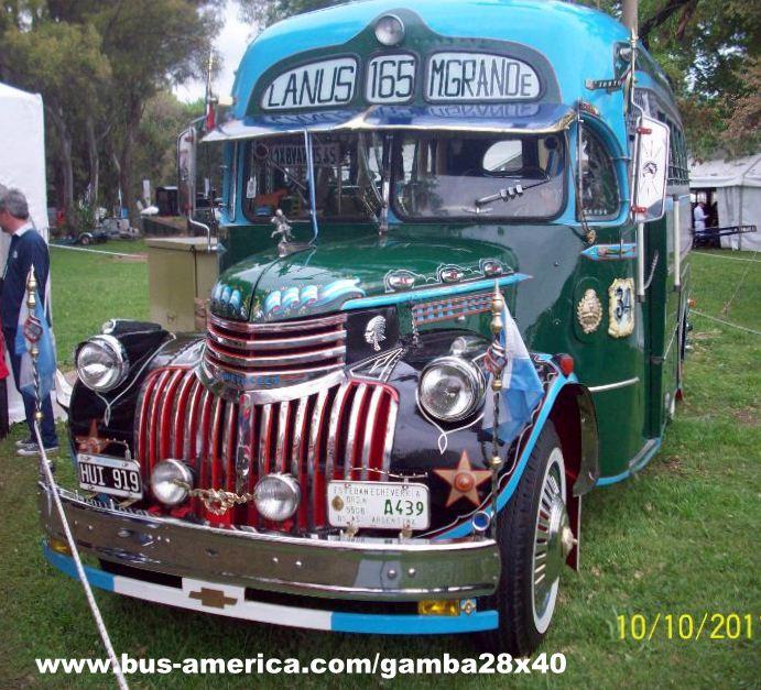 1946 Chevrolet Gnecco Linea 165