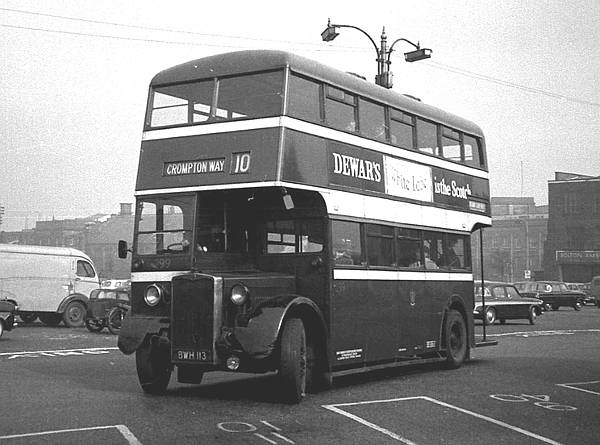 1946 Cravens H30-26R bodied Crossley DD42-3