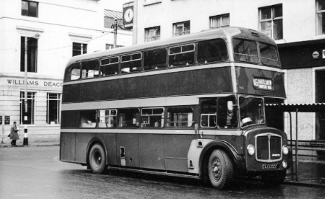 1947 AEC Cravens Bodied Bus OC8 Neepsend of Sheffield