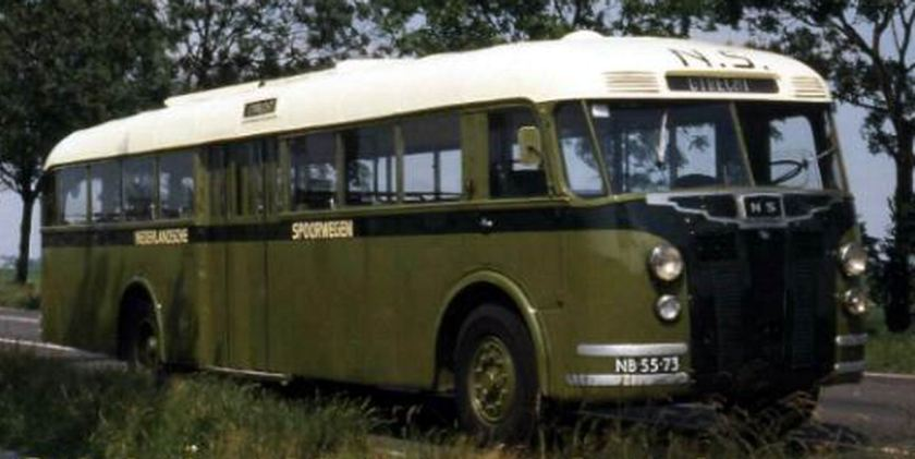1947 Bussen Crossley, SD42-1 de Schelde 1947