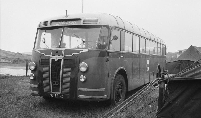 1947 De Schelde Crossley (NB-66-12) Circuit Zandvoort 1962