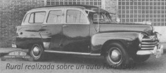 1947 Gnecco-Ford Rural 1947