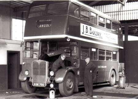 1949 Cravens bodied AEC DDKGK-750