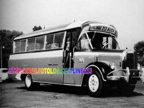 1949 MERCEDES 911 CONVECIONAL CARROCERIA GNECCO