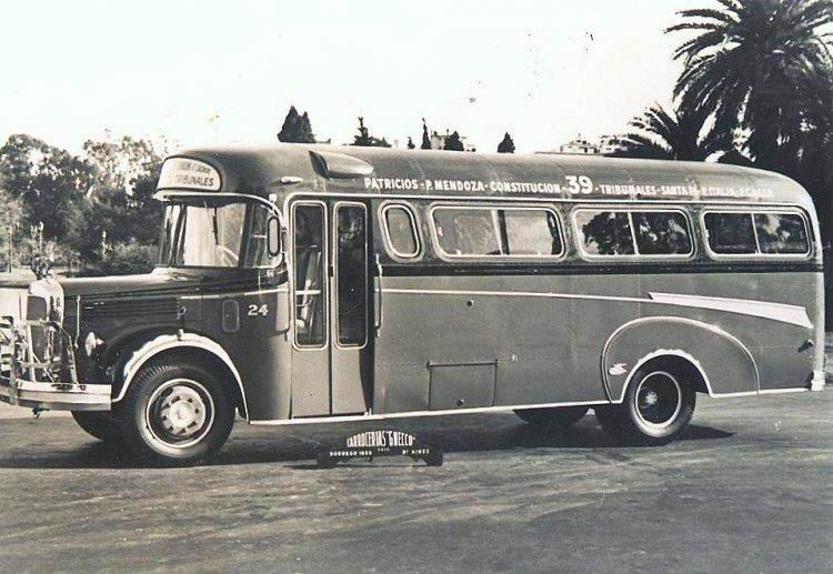 1957 Mercedes-Benz L 312 - Gnecco - Santa Fé
