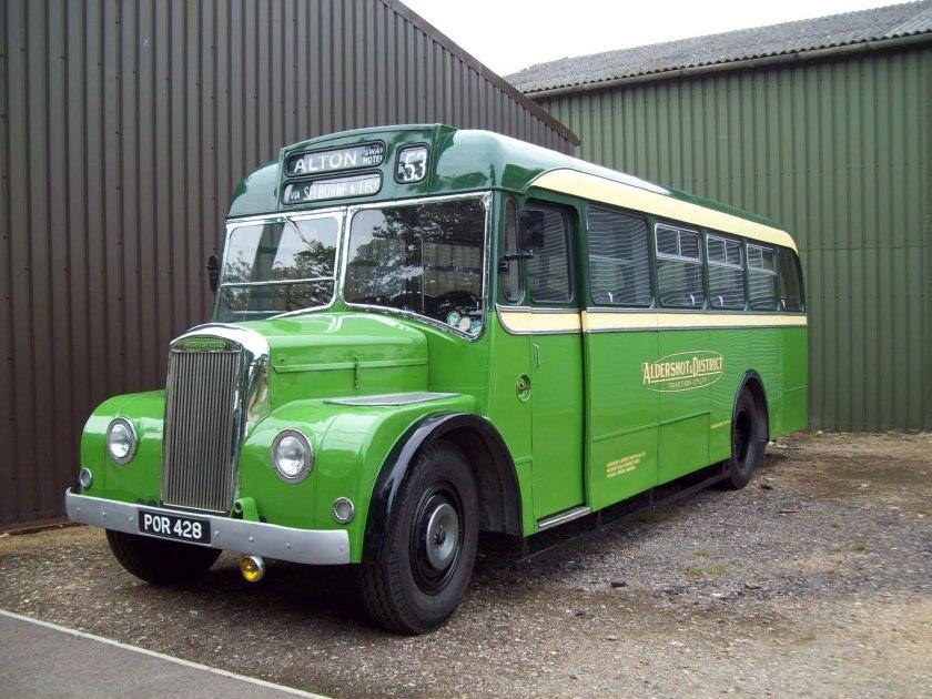 1958 Cravens bodied AEC Regent III Carlton Colville 001