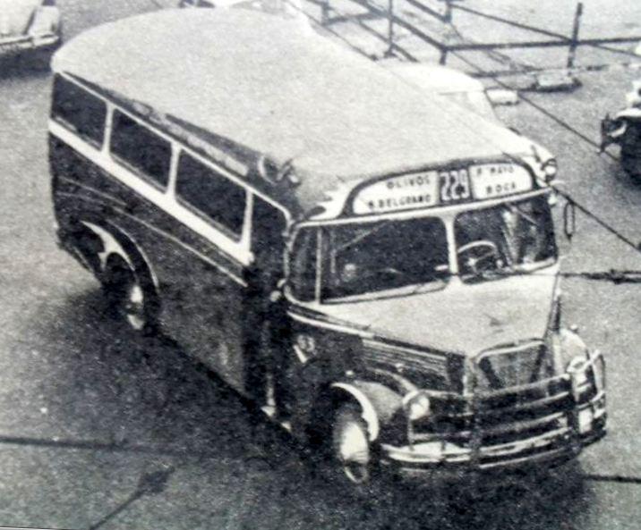 1960 MB L312 483 Gnecco América