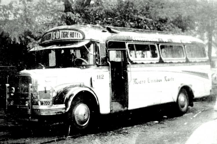 1961 Mercedes-Benz L 312 - Gnecco - Micro Ómnibus Norte