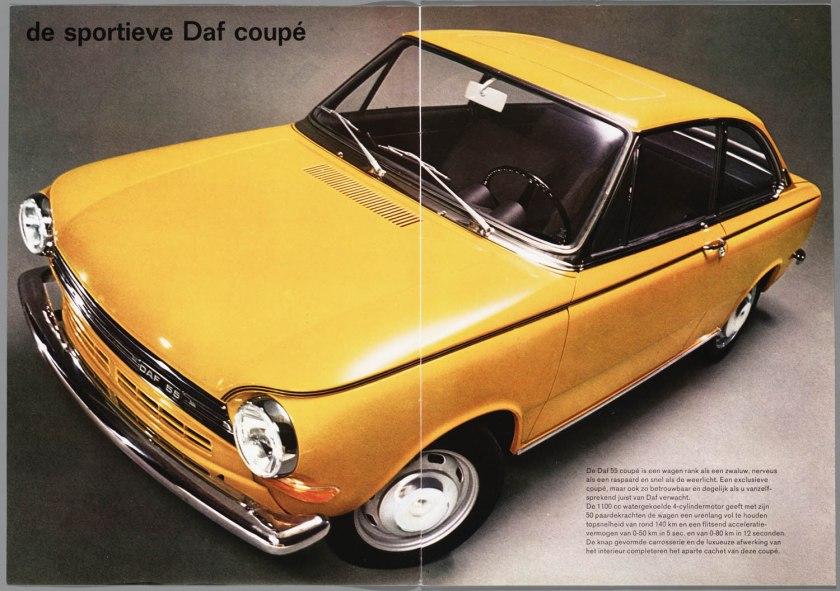1969 DAF 55 coupé b
