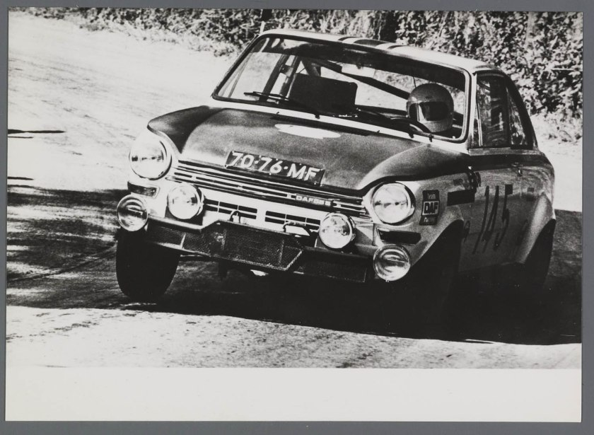 1969 DAF 555 rallyauto 1300 cc - 130 PS