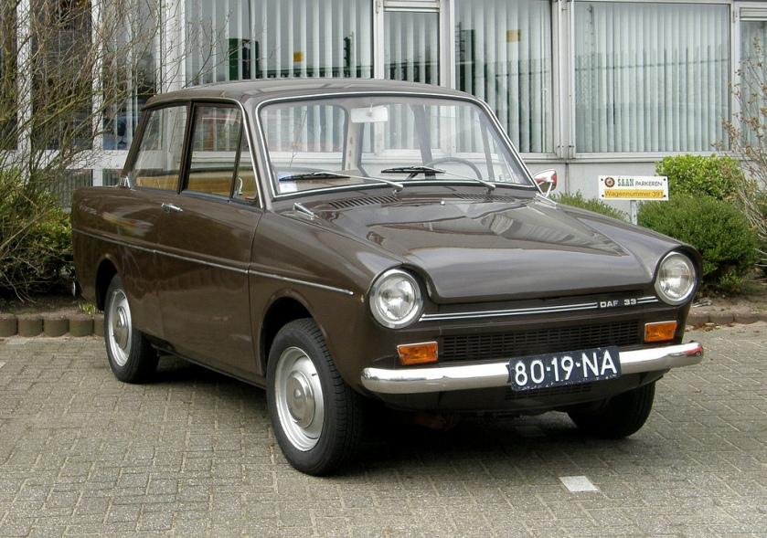 1970 DAF 33 Dit was 'm