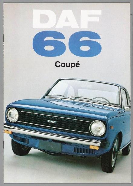 1972 DAF 66 coupé