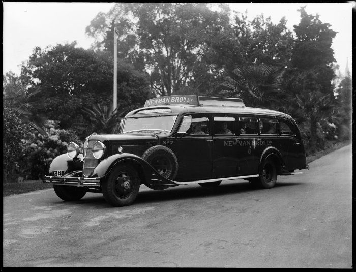 Cadillac 353 V8 bus