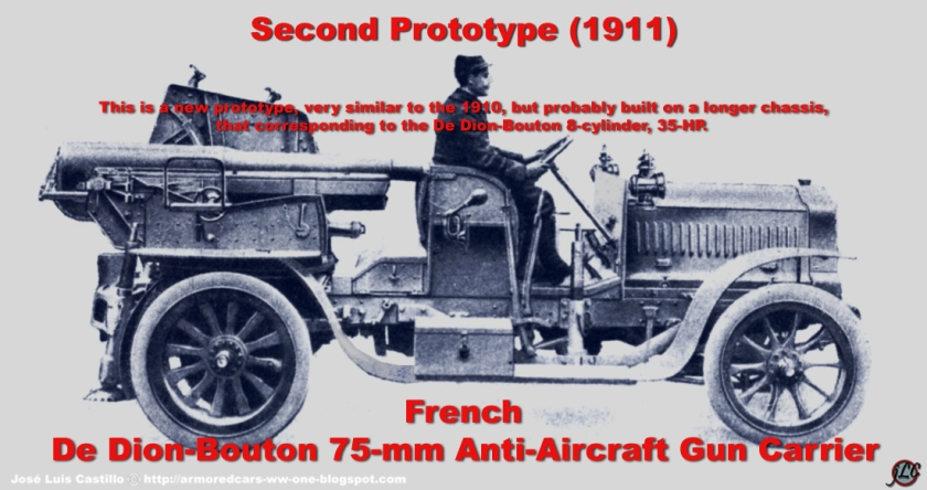 De-Dion-Bouton-75-mm-Anti-Aircraft-Gun-Carrier-1911