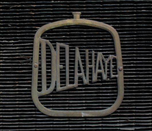 Delahaye grill