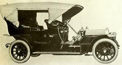 1907 Gräf und Stift 18-32 PS