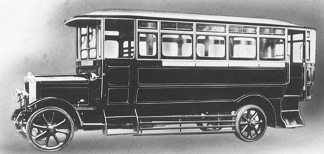 1921 Guy 30-seater bus