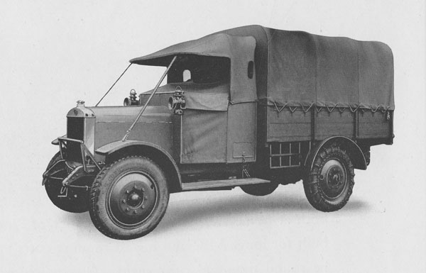 1923 Guy's first military vehicle produced
