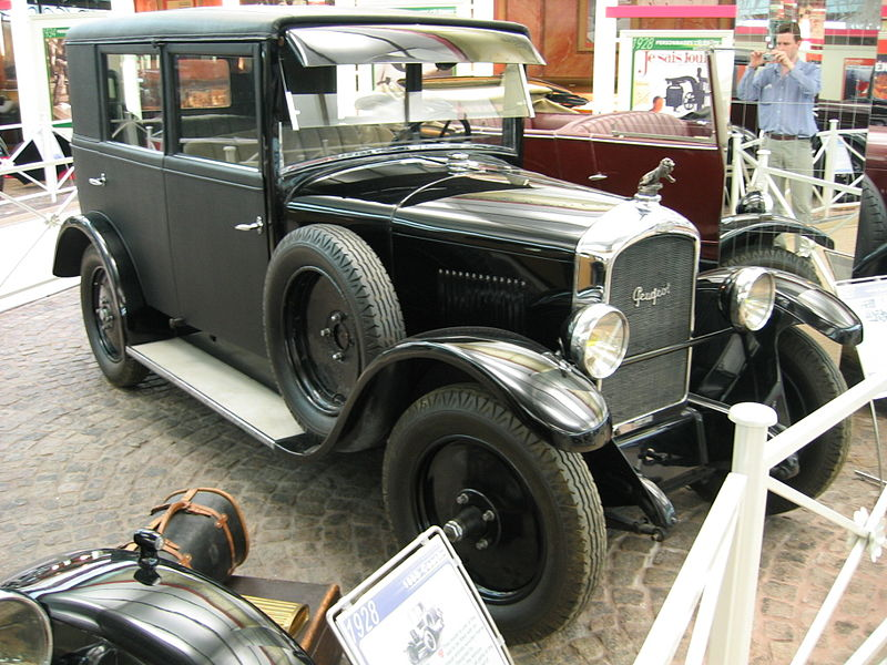 1924-29 Peugeot Type 177 Heuliez nr.1