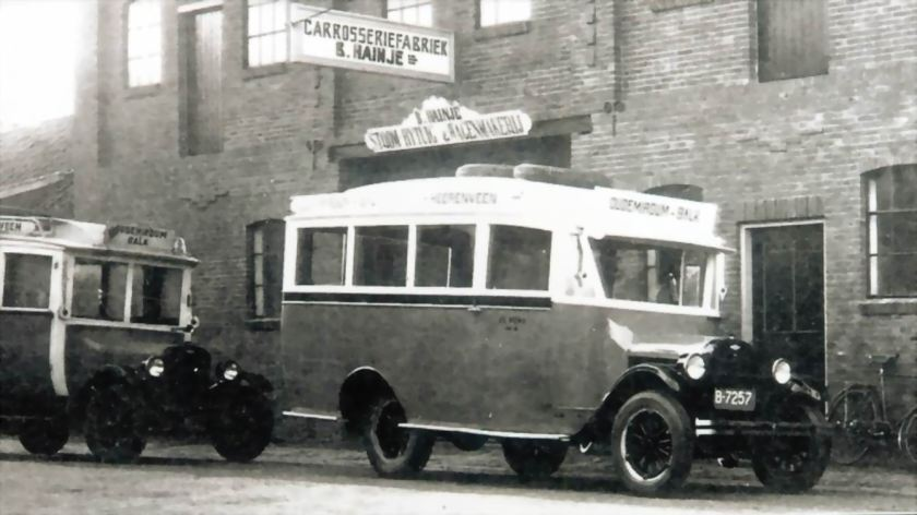 1924 Chevrolet Hainje 20pers B-7257B
