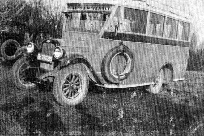 1924 Chevrolet Hainje col lTD Cupido 6 Terschelling