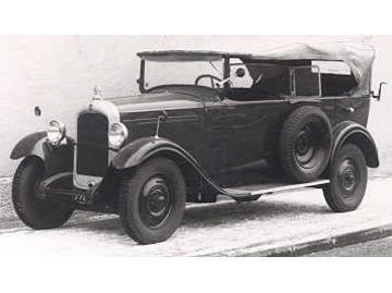 1924 Gräf & Stift SP
