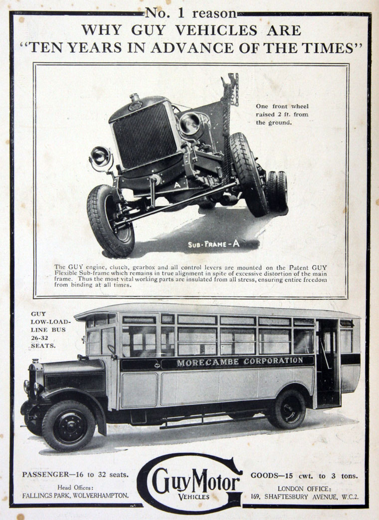 1925 Guy Motors