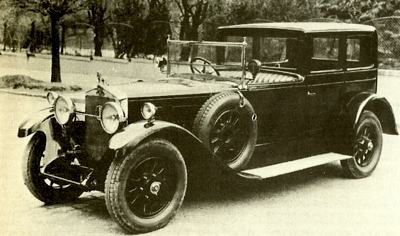 1926 Gräf und Stift S3 Coupe de Ville